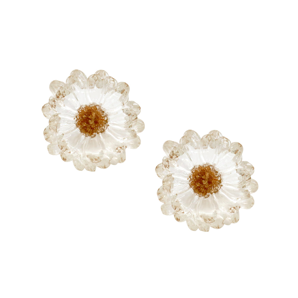 Summer Night Flower Earrings